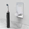 Proofvision Oral-B In Wall Electric Toothbrush Charger - Brushed Steel profile small image view 1