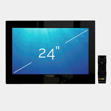 "ProofVision 24"" Premium Widescreen Waterproof Bathroom TV profile large image view 1"