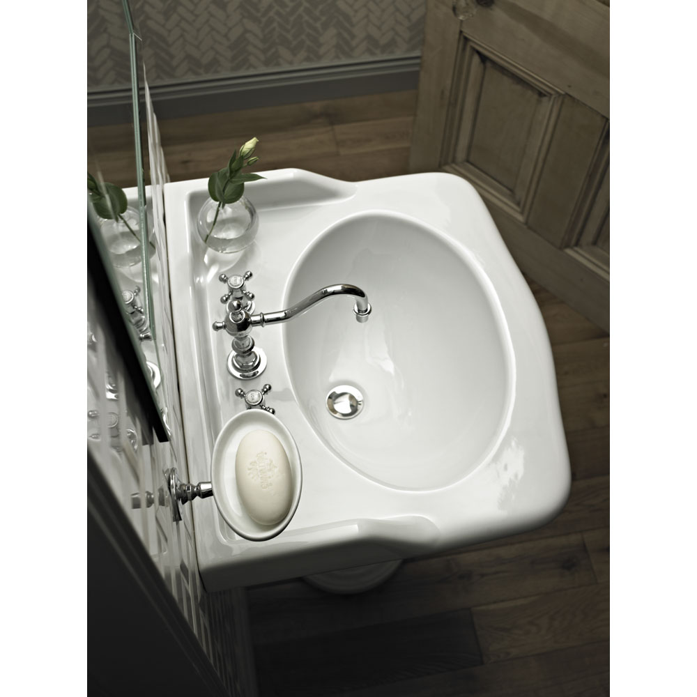 Heritage - New Victoria 3TH Standard Basin & Console Legs Profile Large Image