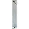 Crosswater 300mm Design+ Matt Black Deflector Panel - PWIDP300ST+ profile small image view 1