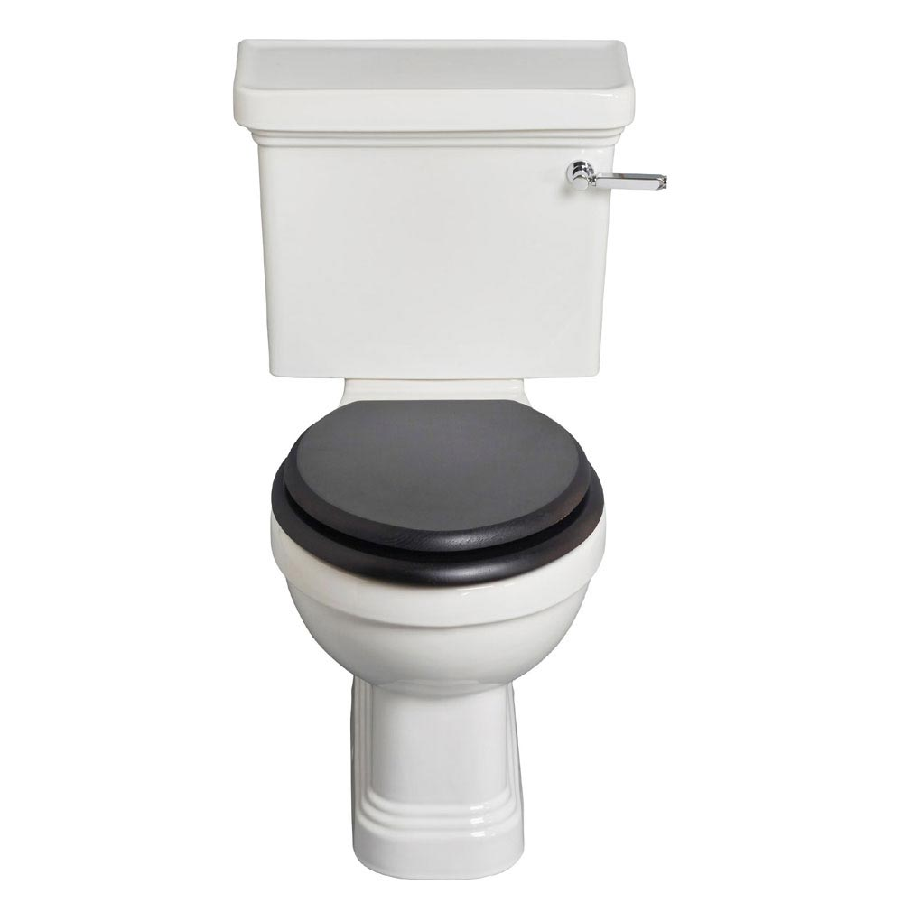 Heritage Wynwood Close Coupled Standard Height WC & Cistern - Various Lever Options Large Image