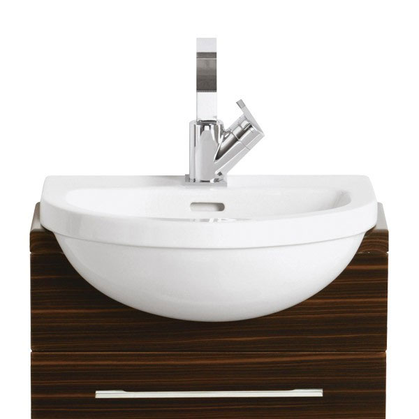 Heritage - Zaar 1TH Cloakroom Semi-Recessed Basin Large Image