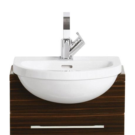Heritage - Zaar 1TH Cloakroom Semi-Recessed Basin
