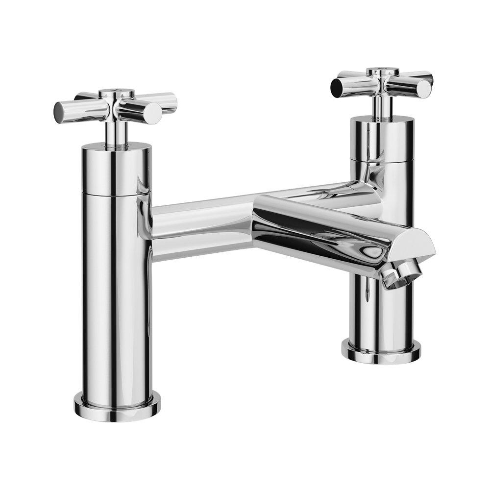Pablo Modern Bath Filler - Chrome profile large image view 1