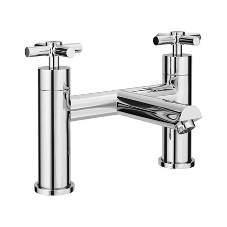 Pablo Modern Bath Filler - Chrome