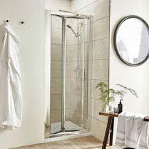 Pacific Bi-Fold Shower Door - Various Size Options Medium Image