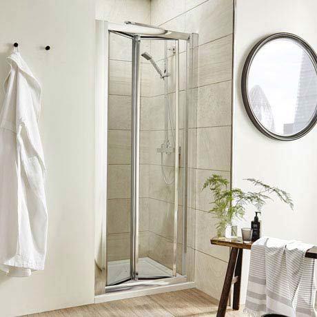 Pacific Bi-Fold Shower Door - Various Size Options