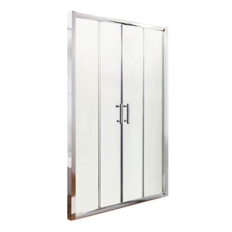 Pacific Double Sliding Shower Door Inc. Shower Tray + Waste  Standard Large Image