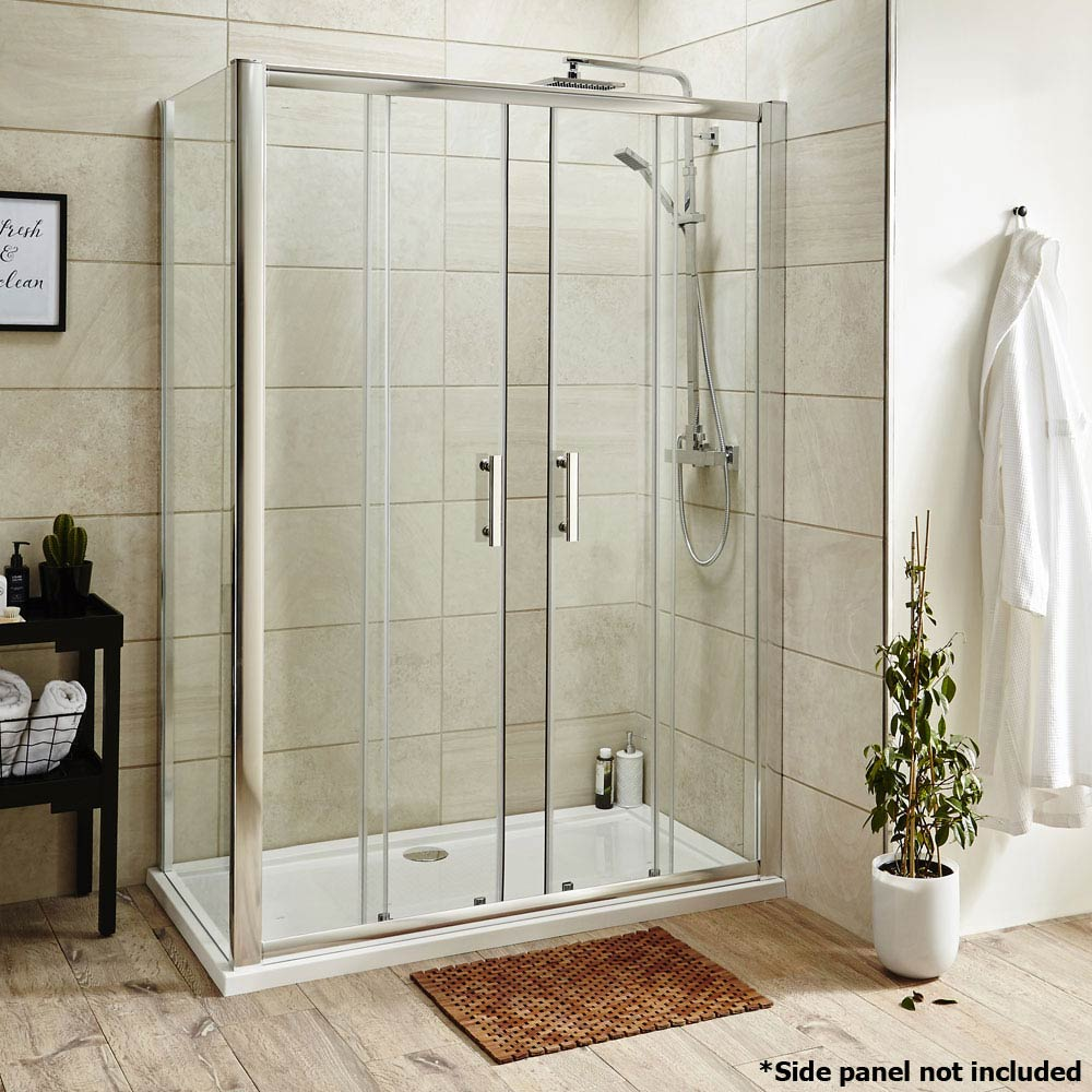 Pacific Double Sliding Shower Door - Various Sizes profile large image view 7