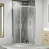 Pacific Quadrant Shower Enclosure Inc. Tray + Waste Small Image