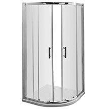 Pacific Quadrant Shower Enclosure Inc. Tray + Waste Medium Image