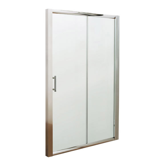 Premier Pacific Sliding Shower Door - Various Size Options  Profile Large Image