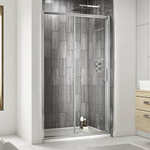 Premier Pacific Sliding Shower Door - Various Size Options Medium Image