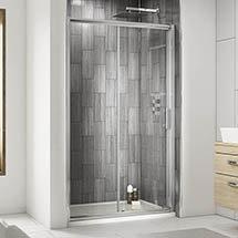 Premier Pacific Sliding Shower Door - Various Size Options Medium Image