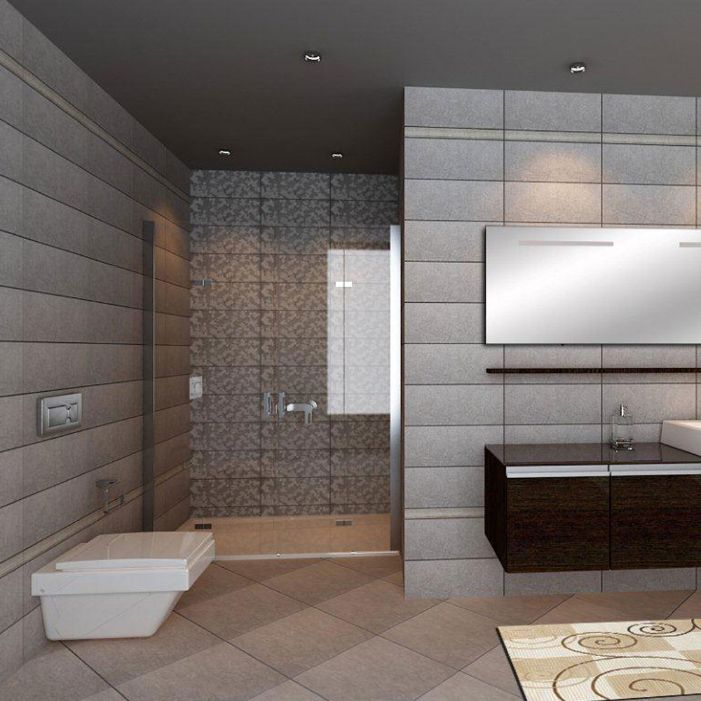 Pacific Stone Cream Wall Tiles Feature Large Image