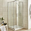 Pacific Corner Entry Square Shower Enclosure (Inc. Shower Tray + Waste) Small Image