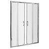 Pacific Double Sliding Shower Door - Various Sizes profile small image view 1