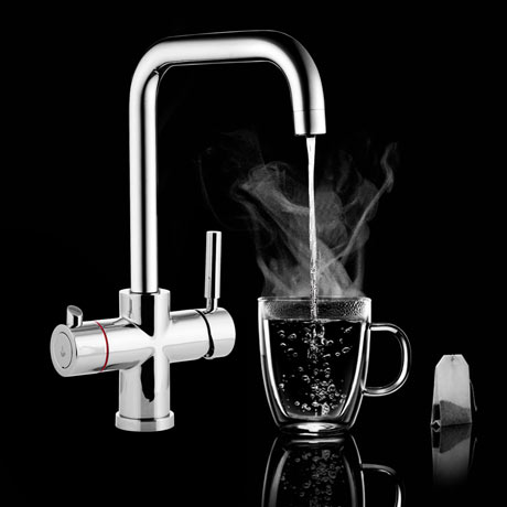 Palma Instant Boiling Water Tap (Includes Tap, Boiler + Filter)