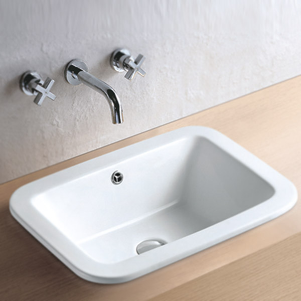 Palmer Inset Basin 0TH - 550 x 390mm Large Image