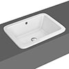 Palmer Inset Basin 0TH - 550 x 400mm profile small image view 1