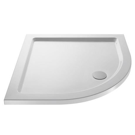 Pearlstone Quadrant Shower Tray