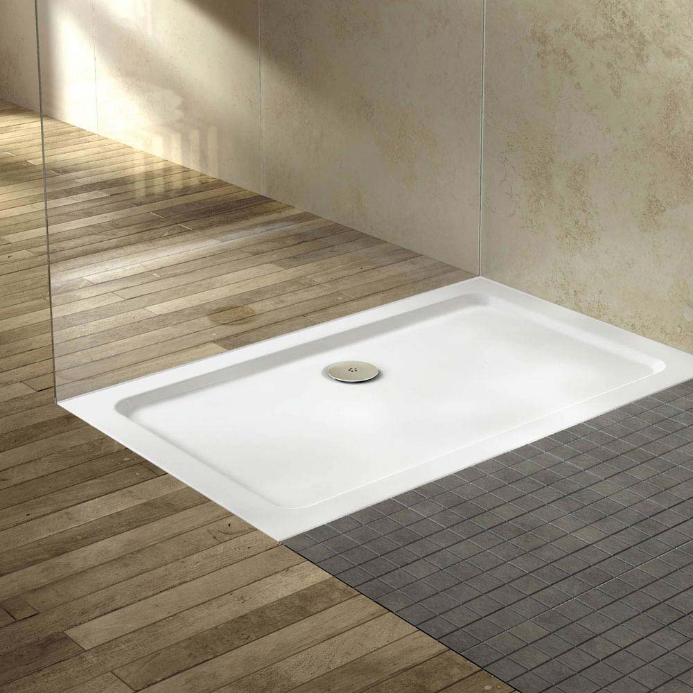 pearlstone rectangular shower tray at victorian plumbing uk. Black Bedroom Furniture Sets. Home Design Ideas
