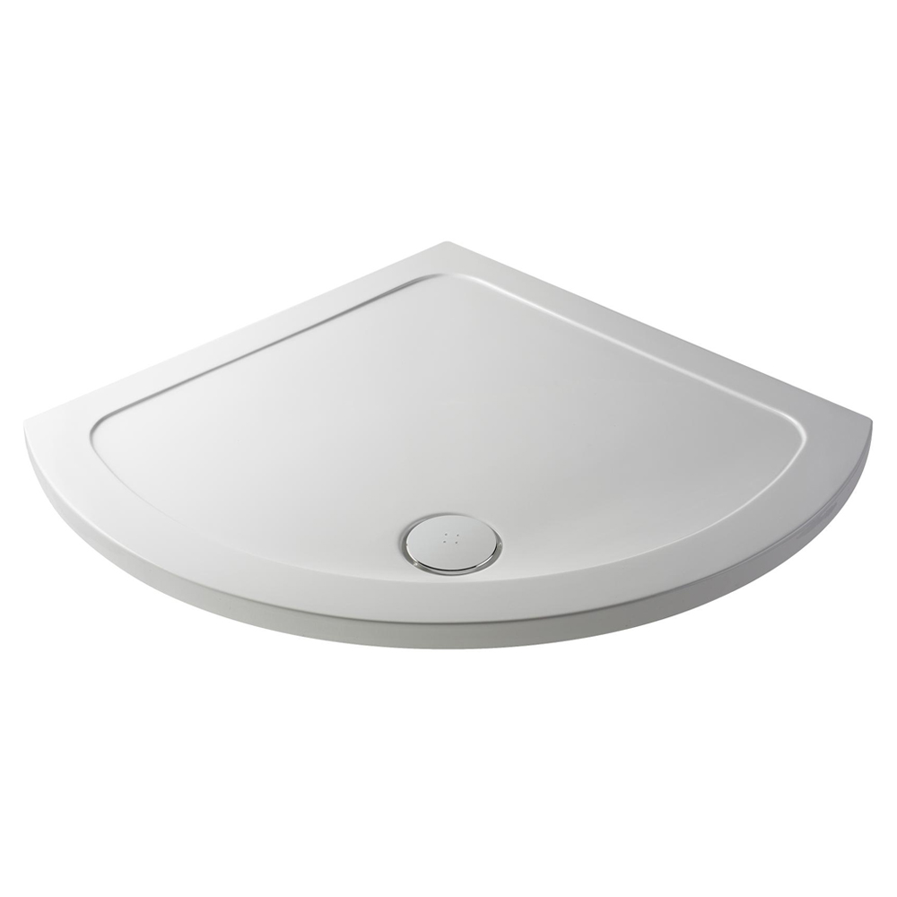 Pearlstone Single Entry Shower Tray - 914x914mm Large Image
