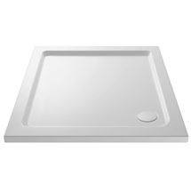 Pearlstone Square Shower Tray Medium Image