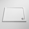 Pearlstone Square Shower Tray profile small image view 1
