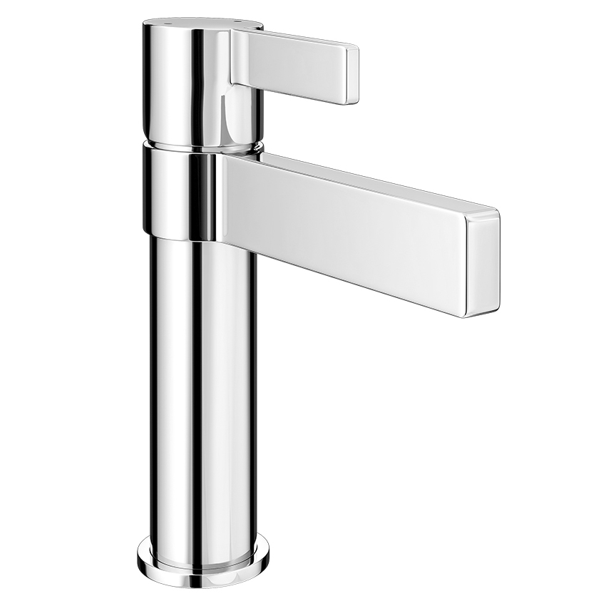 Piccolo Mono Basin Mixer Tap without waste Large Image