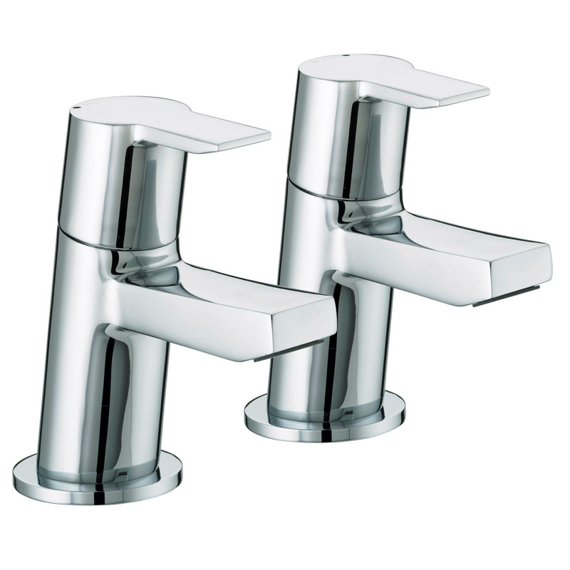 Bristan - Pisa Bath Taps - Chrome - PS-3/4-C Large Image