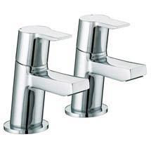 Bristan - Pisa Bath Taps - Chrome - PS-3/4-C Medium Image