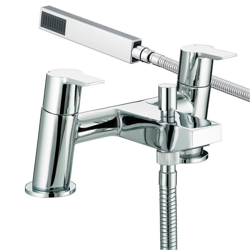 Bristan - Pisa Bath Shower Mixer - Chrome - PS-BSM-C Large Image