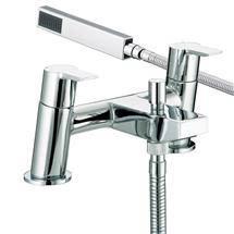 Bristan - Pisa Bath Shower Mixer - Chrome - PS-BSM-C Medium Image