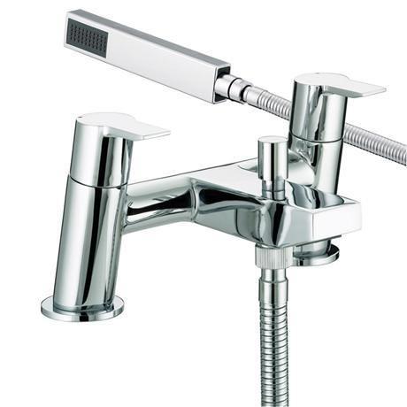 Bristan - Pisa Bath Shower Mixer - Chrome - PS-BSM-C