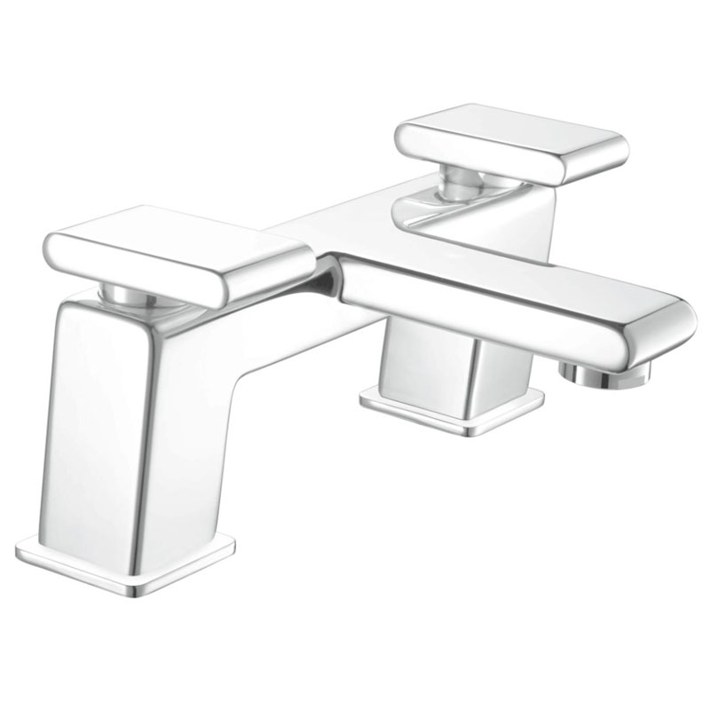 Bristan - Pivot Contemporary Bath Filler - Chrome - PIV-BF-C Large Image
