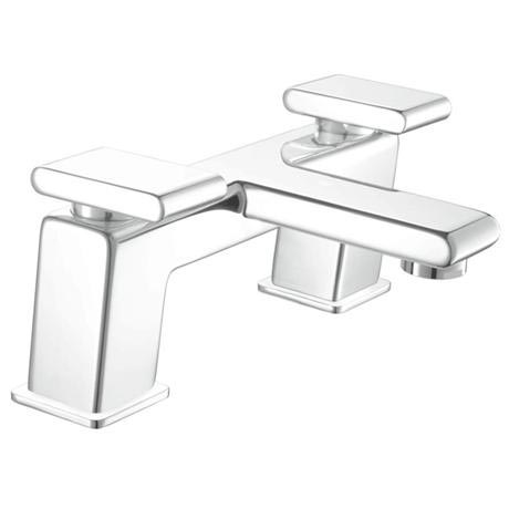 Bristan - Pivot Contemporary Bath Filler - Chrome - PIV-BF-C