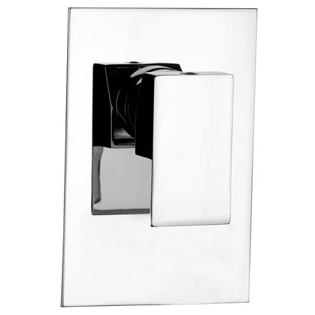 Plaza Modern Concealed Manual Shower Valve - Chrome