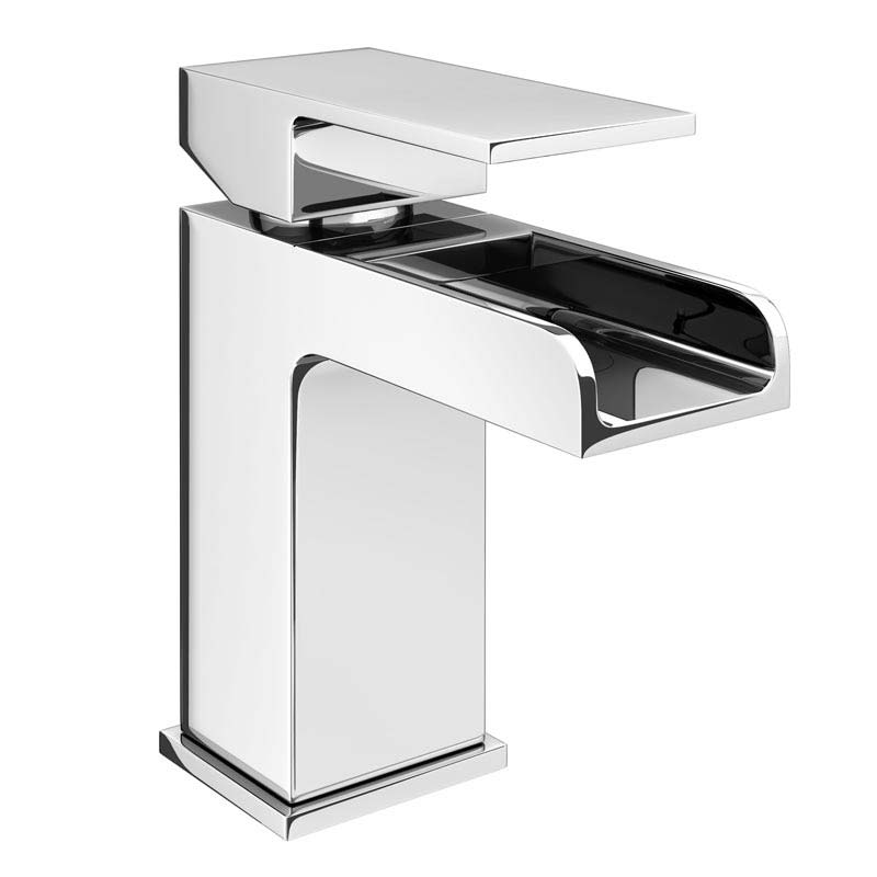 Buy Now Monza Chrome Waterfall Basin Tap With Waste