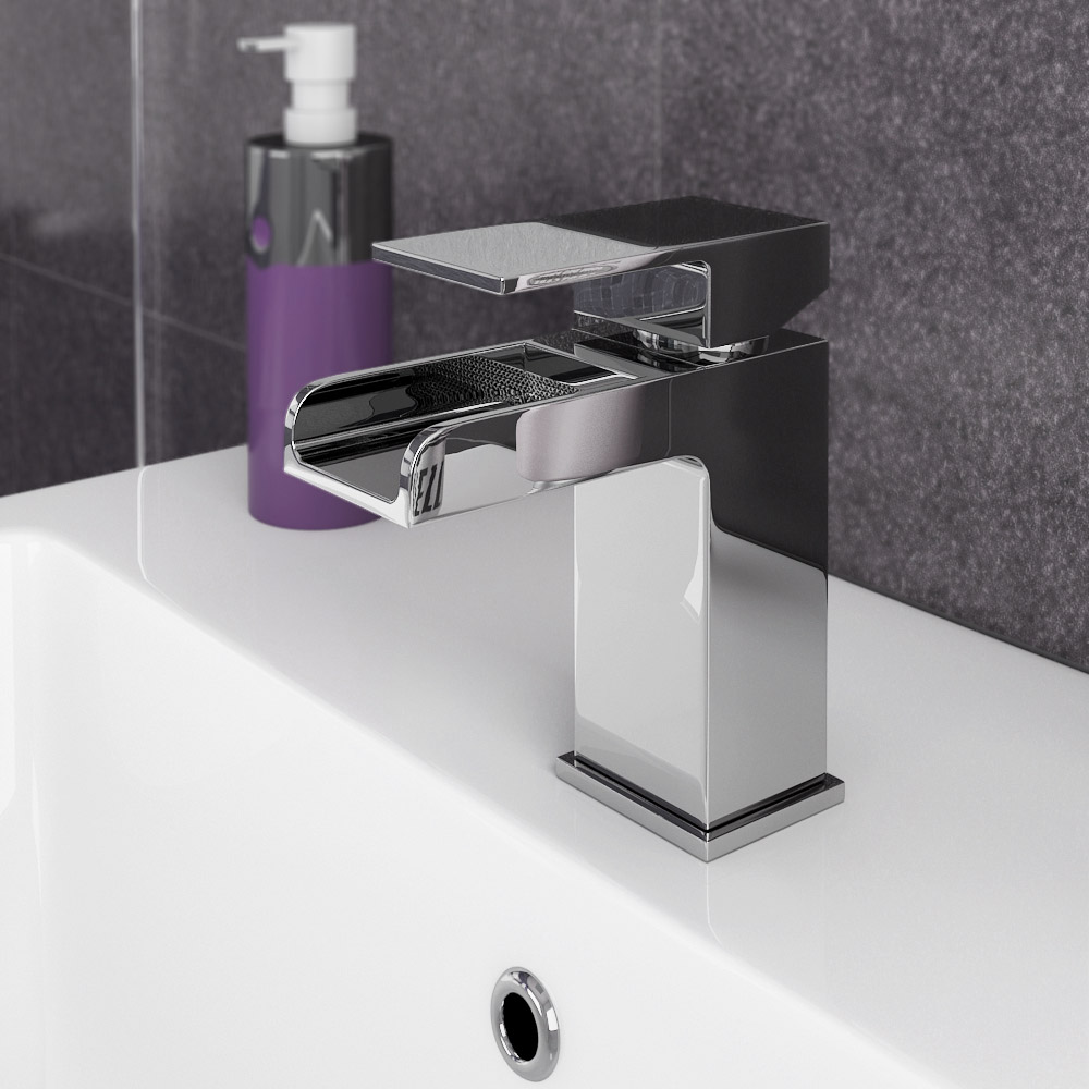 Plaza Waterfall Effect Basin Tap | 8 Beautiful Bathroom Taps Ideas