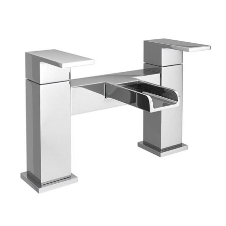 Plaza Waterfall Modern Bath Taps