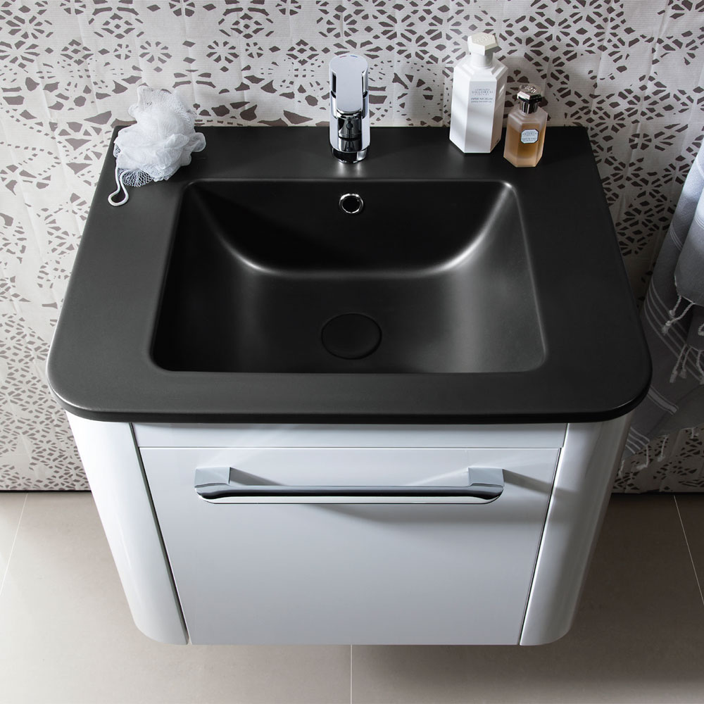 Bauhaus - Celeste Vanity Unit with Plus+Ton Basin - Calico - 3 Size Options Profile Large Image