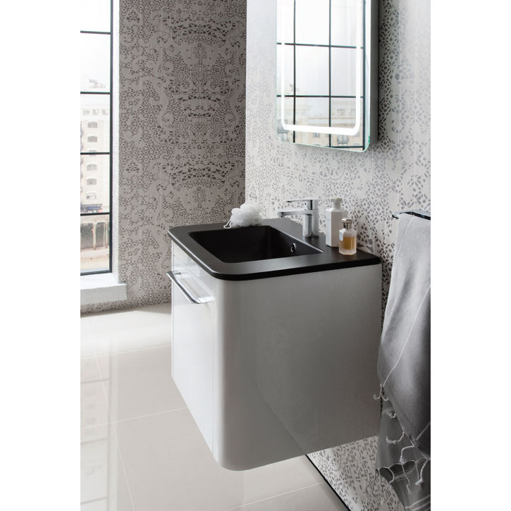 Bauhaus - Celeste Vanity Unit with Plus+Ton Basin - Calico - 3 Size Options Feature Large Image