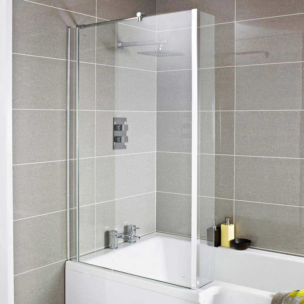 Premier 1400mm quattro bath screen nsbs2 at victorian plumbing uk vtopaller Image collections