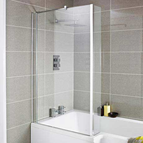 Premier 1400 Quattro Fixed Bath Screen - NSBS2