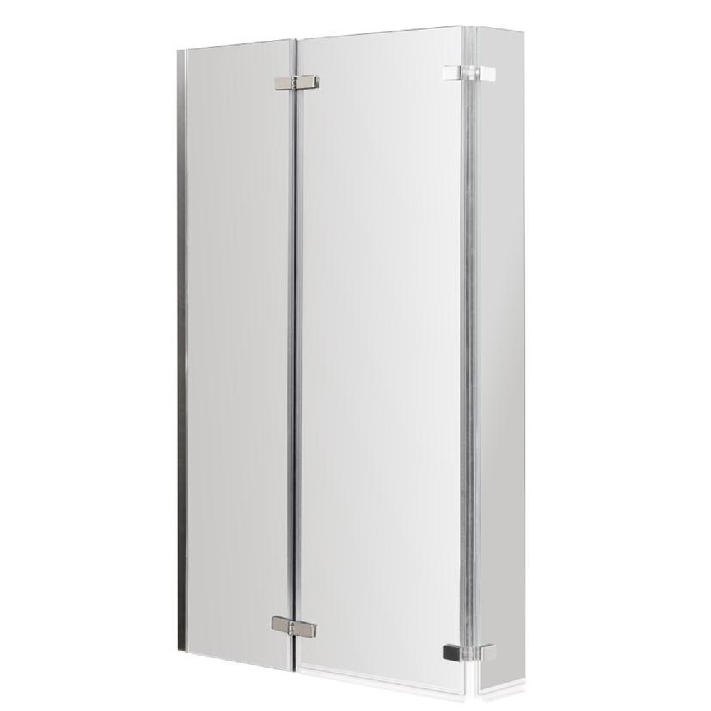 Premier Shower Bath - 1700mm L Shaped with Screen & Panel - LH profile large image view 4