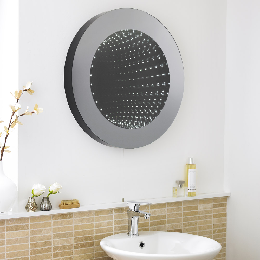 Premier - 600mm Round Infinity Mirror - LQ064 profile large image view 3