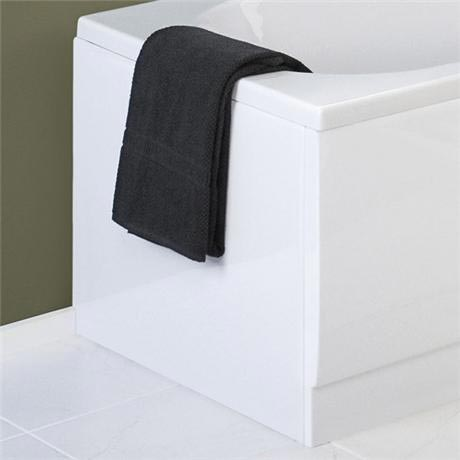Premier - New Acrylic End Bath Panel - White - 3 Size Options