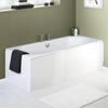 Premier Acrylic Front Bath Panel - White - 4 Size Options Small Image