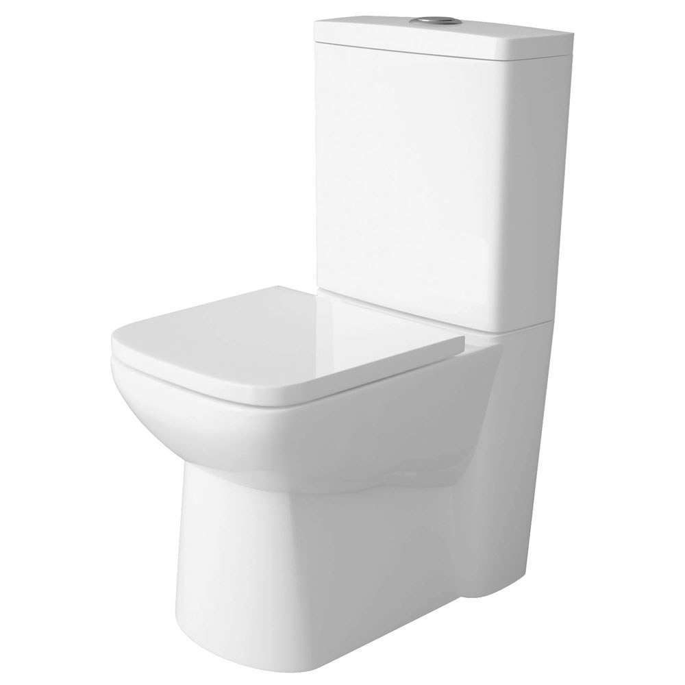 Premier - Ambrose Short Projection 585mm Toilet with Soft Close Seat Profile Large Image